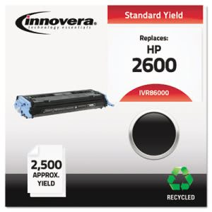 Innovera Remanufactured Q6000A (124A) Laser Toner, 2500 Yield, Black (IVR86000)