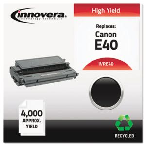Innovera E40 Compatible Remanufactured Toner, 4000 Yield, Black (IVRE40)