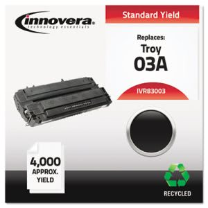 Innovera Remanufactured C3903A (03A) Laser Toner, 4000 Yield, Black (IVR83003)