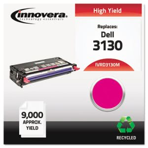 Innovera Remanufactured 330-1200 (3130) Toner, 9000 Yield, Magenta (IVRD3130M)