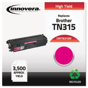 Innovera Remanufactured TN315M Toner, 3500 Yield, Magenta (IVRTN315M)