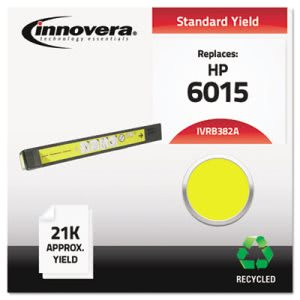 Innovera B382A Remanufactured Laser Toner, 21000 Yield, Yellow (IVRB382A)