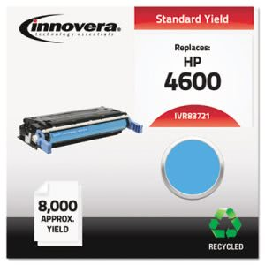 Innovera Remanufactured C9721A (641A) Toner, 8000 Yield, Cyan (IVR83721)