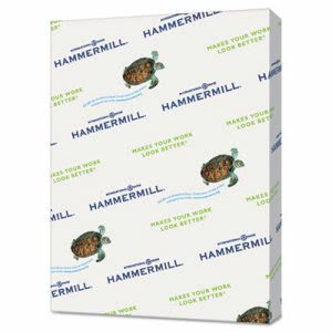Hammermill Recycled Colored Paper, 8-1/2 x 11, Tan, 5000 Sheets (HAM102863CT)