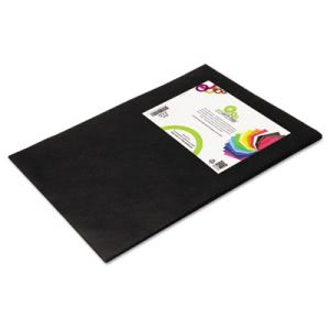 Smart Fab Disposable Fabric, 12 x 18 Sheets, Black, 45 Sheets (SFB23812184520)