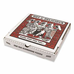 10-In. Pizza Boxes, 50 Boxes (BOX PZCORE10)