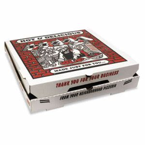 "18"" Pizza Boxes, 50 Boxes (BOX PZCORB18)"