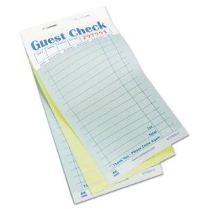 Royal Guest Carbonless Duplicate Check Book, 50 Books/Carton (RPPGC70002)