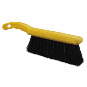"Rubbermaid Tampico-Fill Countertop Brush, 12 1/2"", Yellow Handle (RCP6341BLA)"