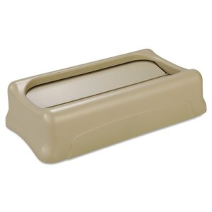 Rubbermaid 267360 Slim Jim Swing Lid, Beige (RCP267360BEI)