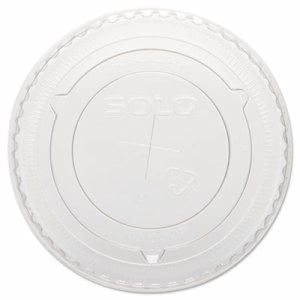 Solo Plastic Straw Slot Lid for 10-oz. Cup, 2,500 Lids (SCC 600TS)