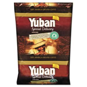 Yuban Special Delivery Coffee, Colombian, 1 1/5 oz. Packs, 42/Carton (YUB863070)