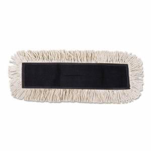 Unisan Mop Head, Dust, Cotton/Synthetic Fibers, 48 x 5, White (UNS1648)