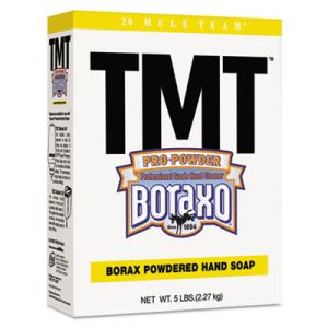 Boraxo TMT Powdered Hand Soap, Unscented Powder, 5lb Box (DIA02561EA)