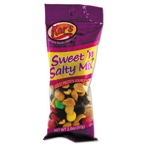 Kar's Nuts Caddy, Sweet 'N Salty Mix, 2 oz Packets, 24 Packets (AVTSN08387)