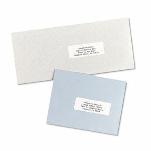 Avery Self-Adhesive Address Labels for Copiers, White, 8250 per Box (AVE5332)