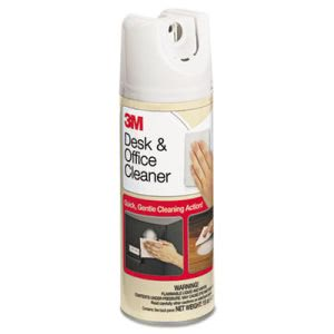 3m Desk & Office Spray Cleaner, 15 oz. Aerosol, 1 Each (MMM573)