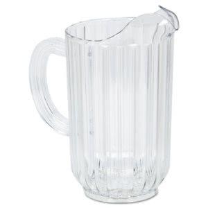 Rubbermaid 3335 Bouncer 48-oz.Plastic Pitcher, Clear, Polycarbonate (RCP3335CLE)