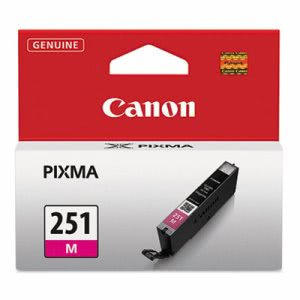 Canon 6515B001 (CLI-251) Ink Cartridge, 9 mL, Magenta (CNM6515B001)