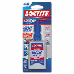 Loctite All-Purpose Adhesive, Clear, 1.18 oz, 1 each (LOC1710836)