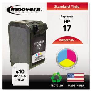 Innovera Compatible Remanufactured C6625AN (17) Ink, Tri-Color (IVR6625AN)