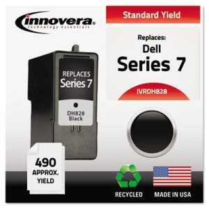 Innovera DH828 Compatible, Remanufactured, CH883 Ink, Black (IVRDH828)