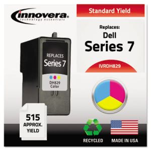 Innovera DH829 Compatible, Remanufactured, CH884 Ink, Tri-Color (IVRDH829)
