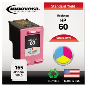 Innovera C643WN Compatible, Remanufactured, CC643WN (60) Ink (IVRC643WN)