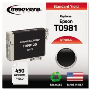 Innovera Compatible Remanufactured T098120 (98) Ink, 540 Yield, Black (IVR98120)