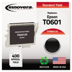 Innovera 860120 Compatible, Remanufactured, T060120 Ink, Black (IVR860120)