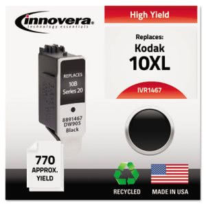 Innovera Remanufactured 8891467 (10XL) Ink, Black (IVR1467)