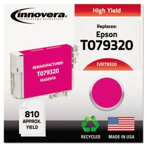 Innovera Compatible Reman High-Yield T079320 (79) Ink, Magenta (IVR79320)