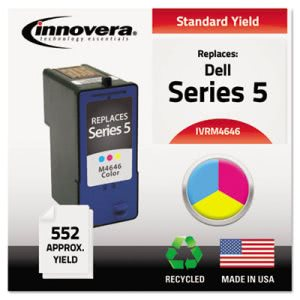 Innovera M4646 Compatible, Remanufactured, J5567 Ink, Tri-Color (IVRM4646)