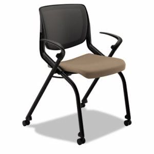 Hon Motivate Seating Nesting/Stacking Flex-Back Chair, Morel/Shadow/Black (HONMN202SDCU24)