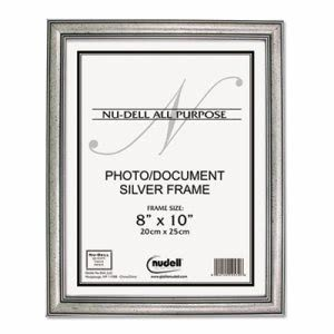Nudell Antique Silver Finish Wood Frame, 8 x 10 (NUD14281)