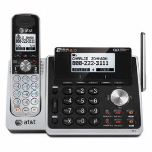 AT&T TL88102 Cordless Digital Answering System w/Additional Handset (ATTTL88102)