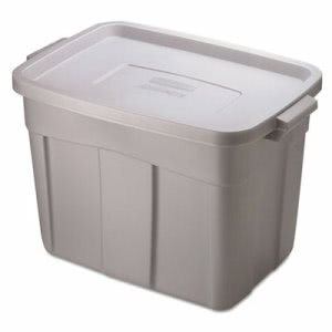 Roughneck Storage Boxes, 18 Gallon Steel Color (RHP 2215CP STE)