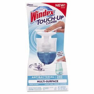 Windex Touch-Up Cleaner, 10 oz Bottle, Fresh Scent (DVOCB703520)