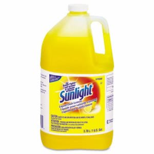Sunlight Liquid Dish Detergent, Lemon, 4 Gallons (DVO95729360)
