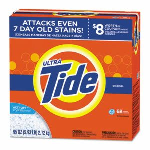 Tide HE Laundry Detergent Powder, Original Scent, 95 oz Box, 3 Boxes (PGC84997)