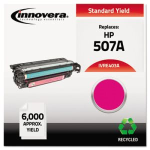 Innovera Compatible Remanufactured CE403A (M551) Magenta Toner (IVRE403A)