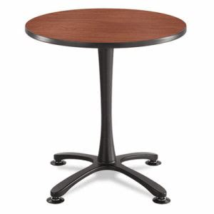 "Safco Cha-Cha Sitting Height Table Base, X-Style, Steel, 29"", Blk (SAF2461BL)"