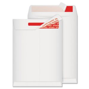 Advantage Flap-Stik Mailer, Side Seam, 9 x 12, White, 100 per Box (QUAR2400)