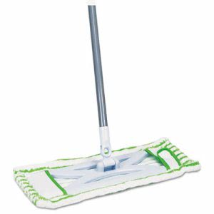 "Quickie HomePro Mighty Mop, 54"" Handle, 6 1/2 x 2 1/2 Frame, Green (QCK076M)"