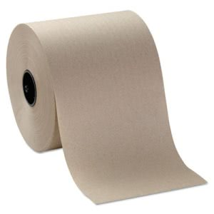 Sofpull 1000' Brown Hardwound Paper Towels, 6 Rolls (GPC26920)