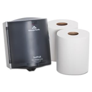 Sofpull Center Pull Trial Kit, 1 Dispenser, 2 Rolls of Towels (GPC58205)