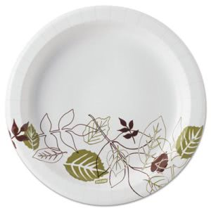 "Dixie Pathways 8-1/2"" Paper Plates, Mediumweight, 600 Plates (DXEUX9PATHPB)"