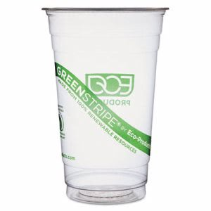 Eco-products Renewable Resource Cold Drink Cups, 20 oz, 1000 Cups (ECOEPCC20GS)