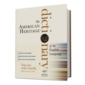 Houghton American Heritage Dictionary of the English Language (HOU1034296)