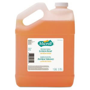 Gojo Micrell Antibacterial Lotion Hand Soap, 4 Gallons (GOJ 9755)